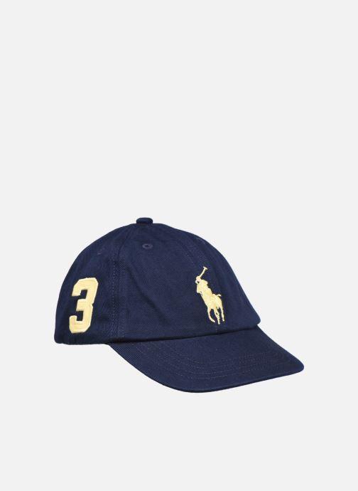 Casquettes Polo Ralph Lauren big pp cap-apparel accessories-hat Bleu vue détail/paire