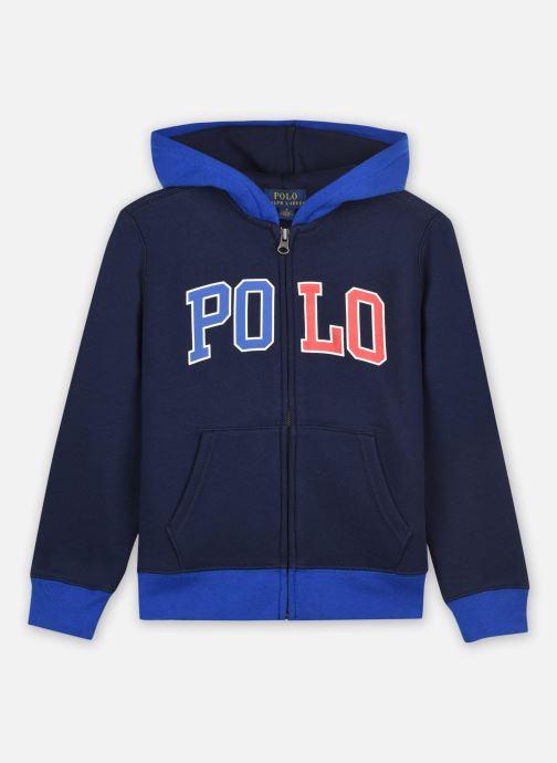 Sweatshirt hoodie - ls fz hood-tops-knit