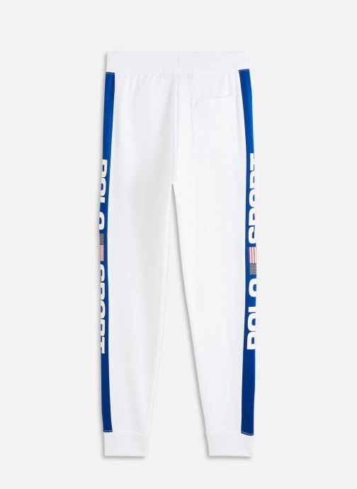 Vêtements Polo Ralph Lauren track pant-bottoms-pant Blanc vue bas / vue portée sac