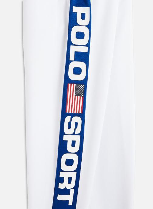 Vêtements Polo Ralph Lauren track pant-bottoms-pant Blanc vue portées chaussures