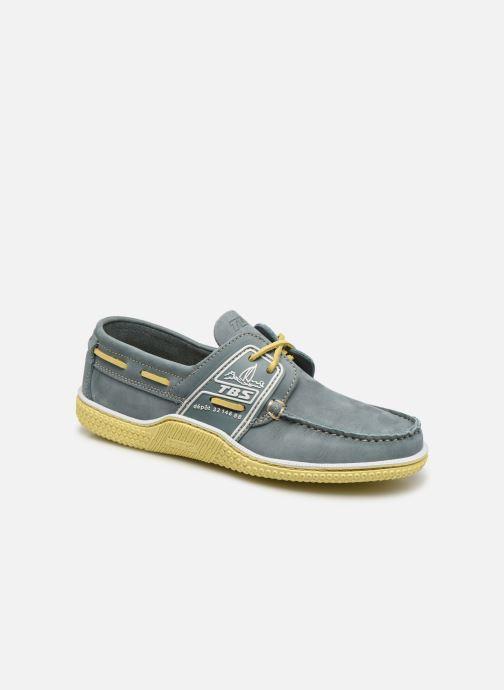 Zapatos con cordones TBS GLOBEK N Verde vista de detalle / par