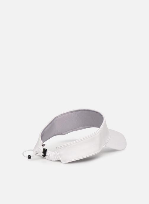 Kappe FILA Elastic Drawstring Visor weiß schuhe getragen