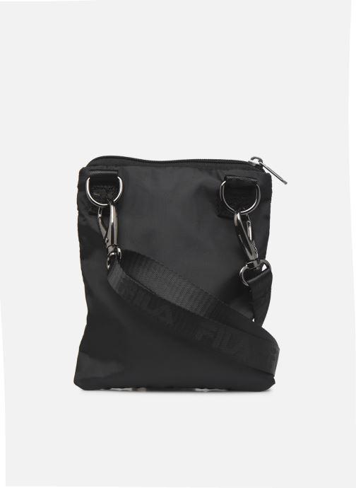 Handtassen FILA Passport pouch 2 Zwart voorkant