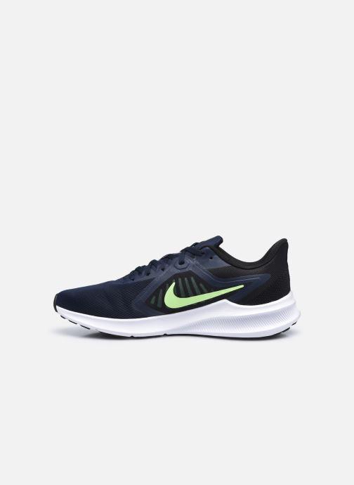 Chaussures de sport Nike Nike Downshifter 10 Bleu vue face