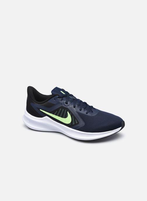 Chaussures de sport Nike Nike Downshifter 10 Bleu vue détail/paire