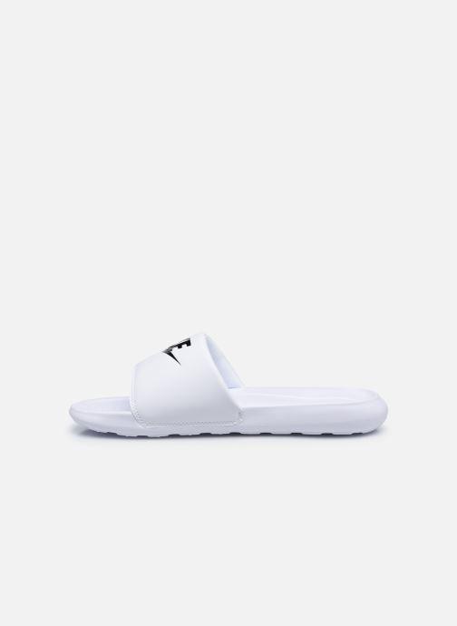 Sandali e scarpe aperte Nike Nike Victori One Slide Bianco immagine frontale