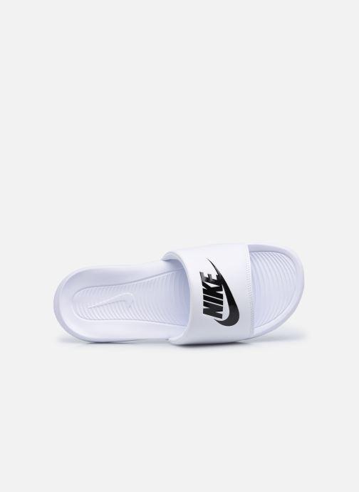 Sandali e scarpe aperte Nike Nike Victori One Slide Bianco immagine sinistra