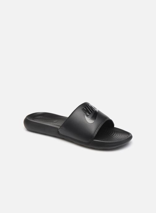 Sandales et nu-pieds Nike Nike Victori One Slide Noir vue détail/paire