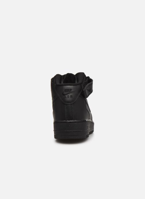 Sneaker Nike Air Force 1 Mid '07 schwarz ansicht von rechts