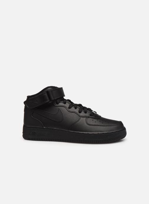 Sneaker Nike Air Force 1 Mid '07 schwarz ansicht von hinten