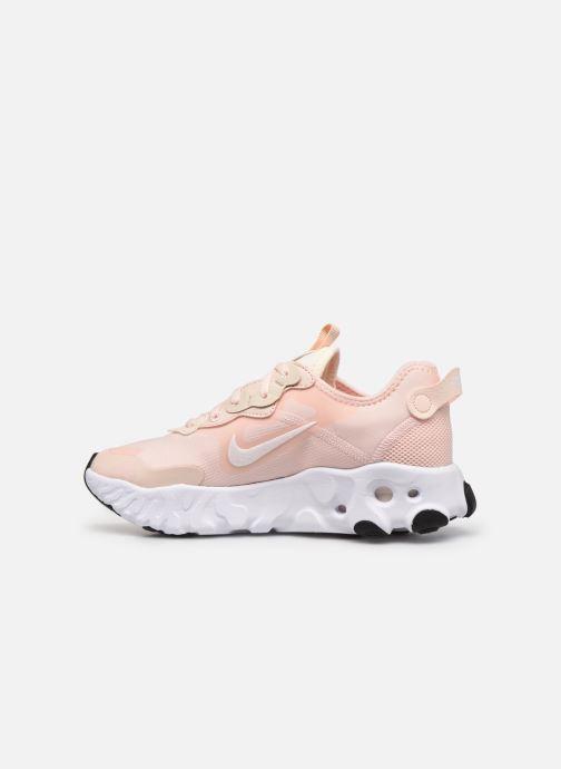 Sneaker Nike W Nike React Art3Mis rosa ansicht von vorne