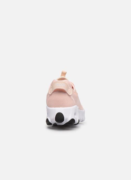 Sneaker Nike W Nike React Art3Mis rosa ansicht von rechts