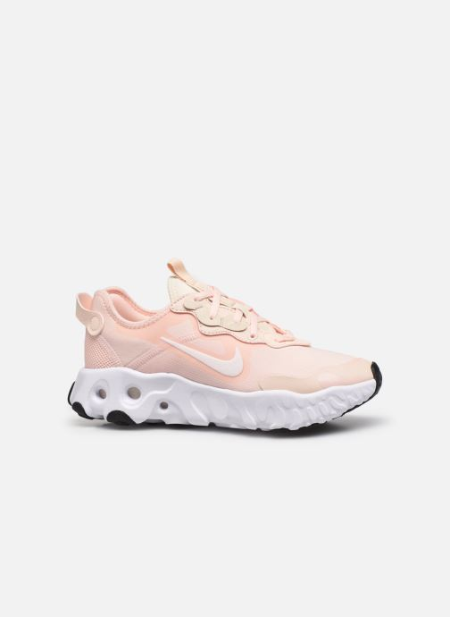 Sneaker Nike W Nike React Art3Mis rosa ansicht von hinten