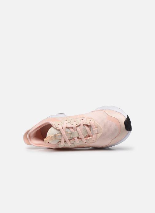 Sneaker Nike W Nike React Art3Mis rosa ansicht von links