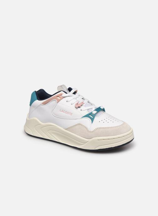Baskets Lacoste Court Slam 0721 3 Sfa W Blanc vue détail/paire