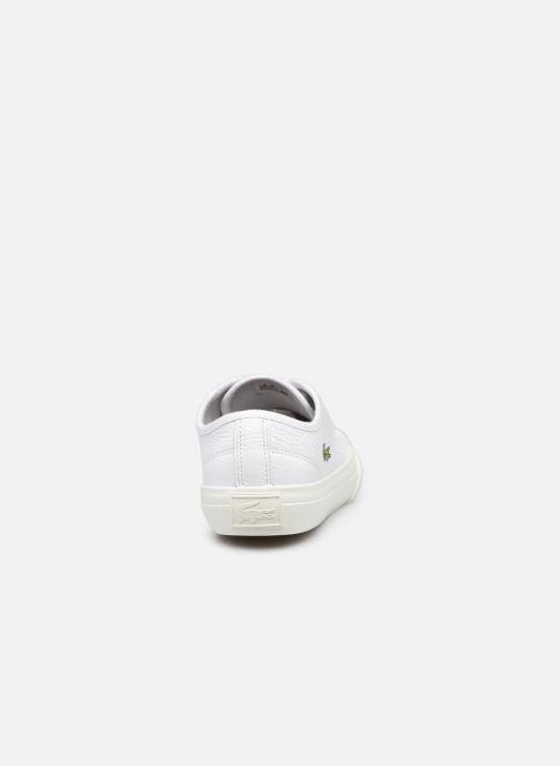 Baskets Lacoste Topskill 0721 1 Cfa W Blanc vue droite