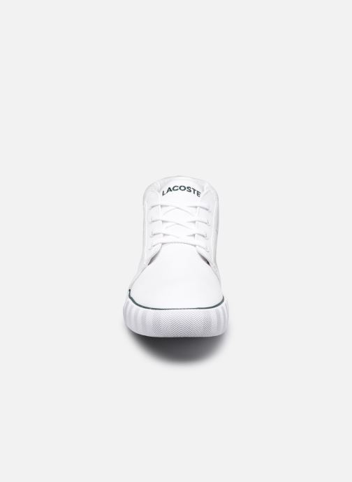 Sneakers Lacoste Gripshot Chukka 07211 Cma M Bianco modello indossato