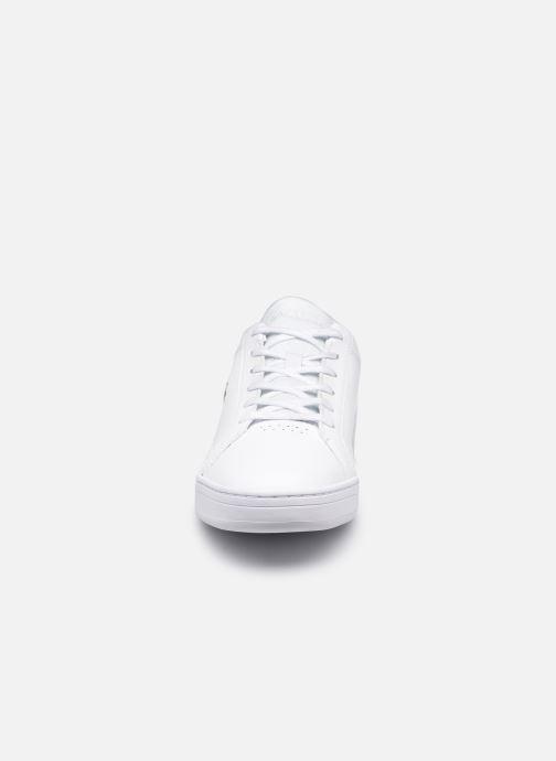 Sneaker Lacoste Challenge 0120 2 Sma M weiß schuhe getragen
