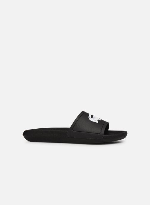 Sandales et nu-pieds Lacoste Croco Slide 119 1 Cma M Noir vue derrière