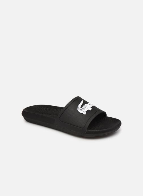 Sandales et nu-pieds Lacoste Croco Slide 119 1 Cma M Noir vue détail/paire