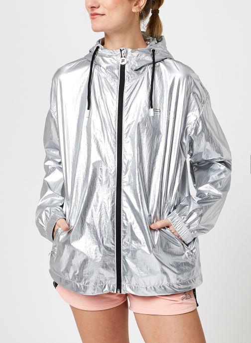 Vêtements FILA Janit Silver Jacket Gris vue droite