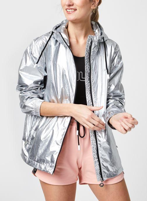 Kleding FILA Janit Silver Jacket Grijs detail