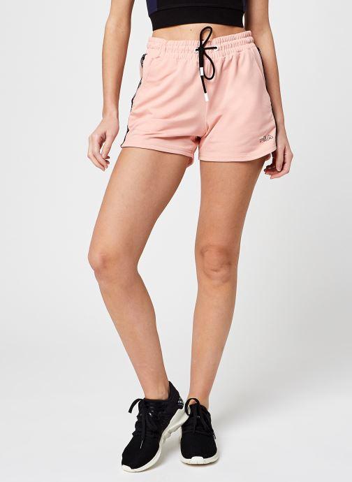 Vêtements FILA Jadiana Taped Shorts Rose vue détail/paire