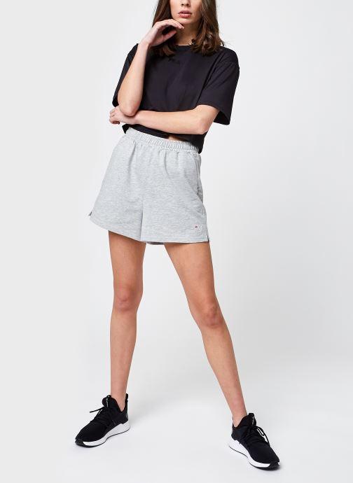 Vêtements FILA Edel Shorts High Waist Gris vue bas / vue portée sac
