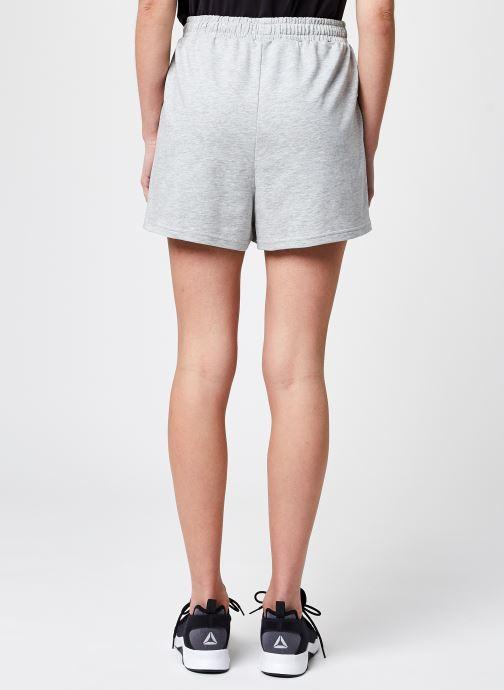 Vêtements FILA Edel Shorts High Waist Gris vue portées chaussures