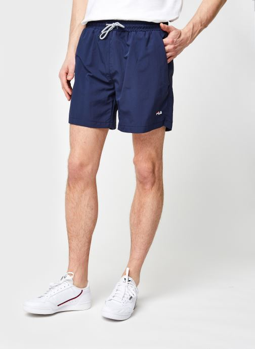 Vêtements FILA Matteo Swim Short Bleu vue détail/paire