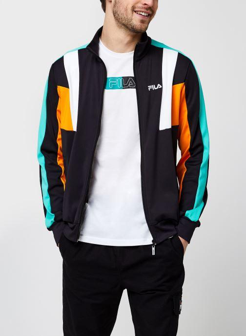 Vêtements FILA Ajax Track Jacket Noir vue détail/paire