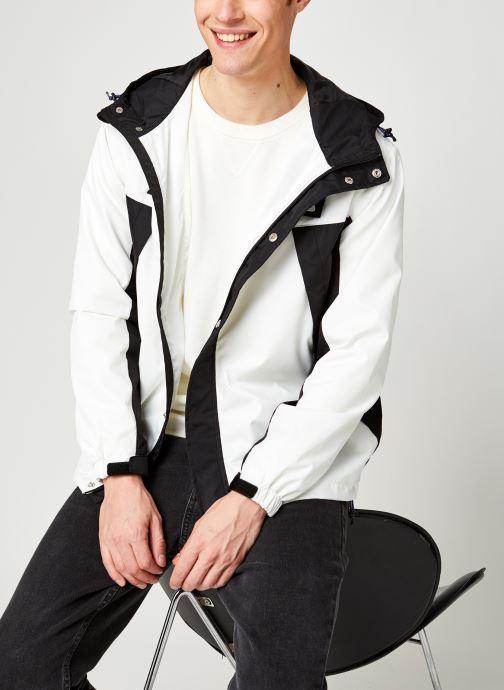 Vêtements FILA Cleave Shell Jacket Blanc vue détail/paire