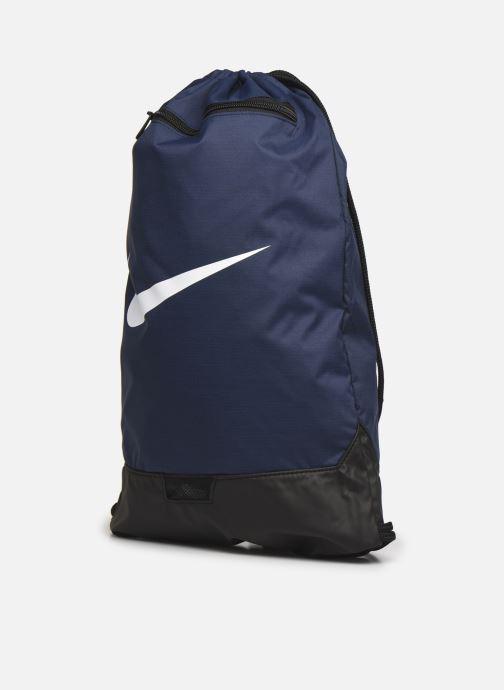 Zaini Nike Nk Brsla Gmsk - 9.0 (23L) Azzurro modello indossato