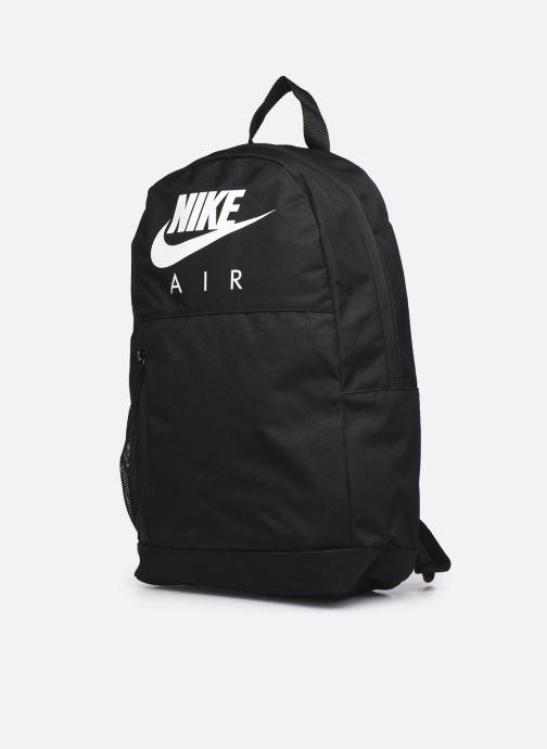 Zaini Nike Y Nk Elmntl Bkpk - Gfx Fa19 Nero modello indossato