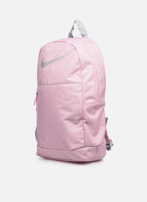 Zaini Nike Y Nk Elmntl Bkpk - Swoosh Gfx Rosa modello indossato
