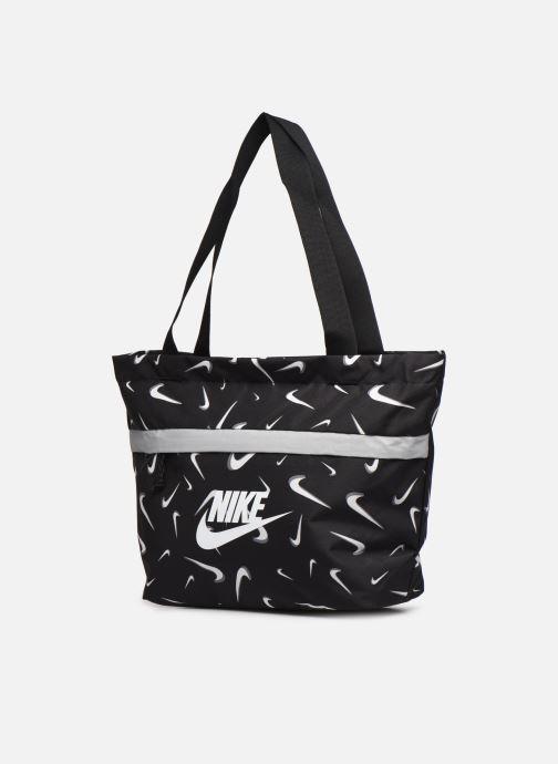 Bolsos de mano Nike Y Nk Tanjun Tote - Aop Negro vista del modelo