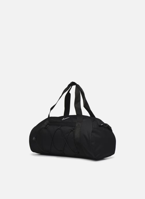 Borsa da palestra Nike W Nk One Club Bag Nero modello indossato
