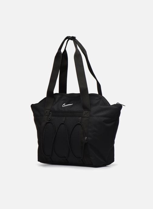 Sacs à main Nike W Nk One Tote Noir vue portées chaussures