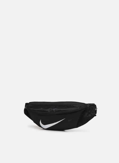 Borse uomo Nike Nk Heritage Hip Pack - Swoosh Nero modello indossato
