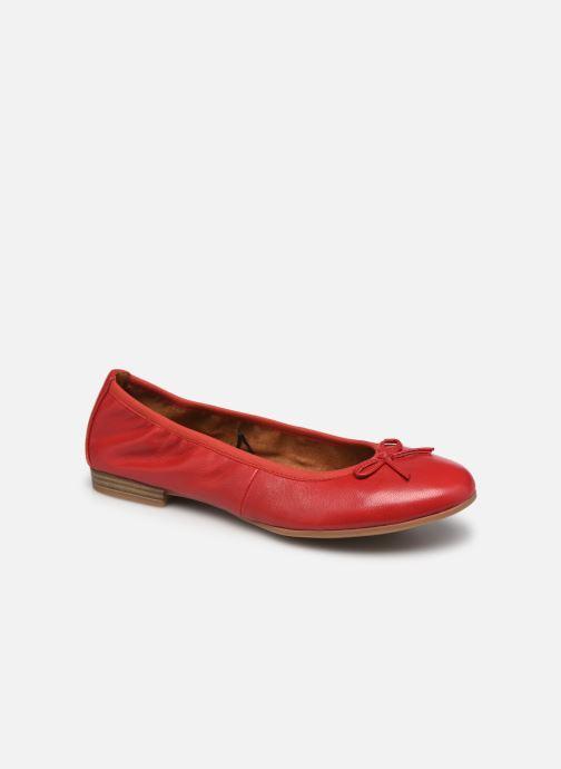 Ballerines Tamaris Plum Rouge vue détail/paire