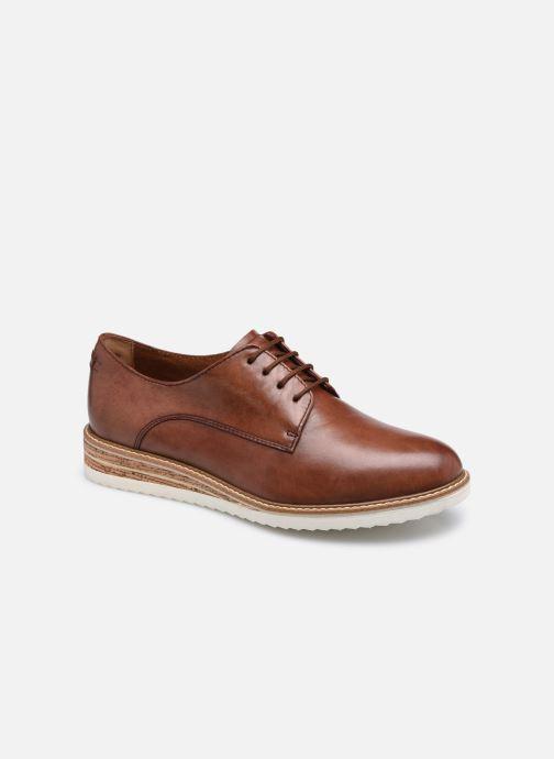 Chaussures à lacets Tamaris Polly Marron vue détail/paire