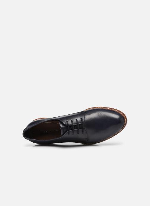 Chaussures à lacets Tamaris Polly Bleu vue gauche