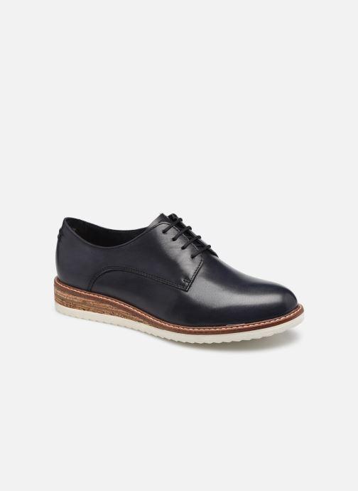 Chaussures à lacets Tamaris Polly Bleu vue détail/paire