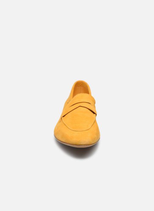 Mocassins Tamaris Dorie Jaune vue portées chaussures