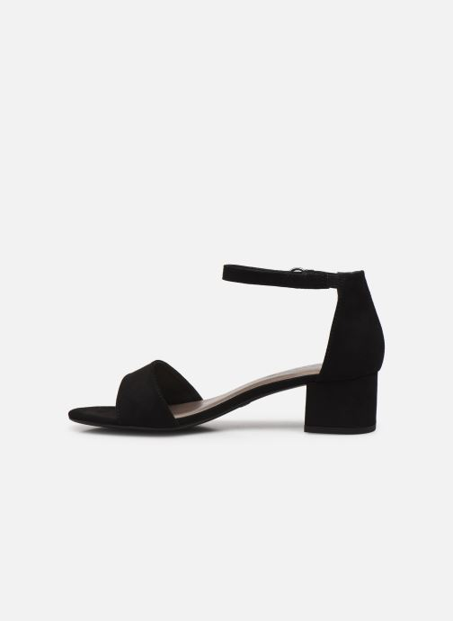Sandales et nu-pieds Tamaris Bellagio Noir vue face
