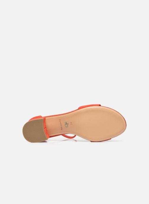 Sandales et nu-pieds Tamaris Bellagio Rouge vue haut