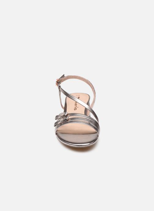 Sandales et nu-pieds Tamaris Vernazza Argent vue portées chaussures