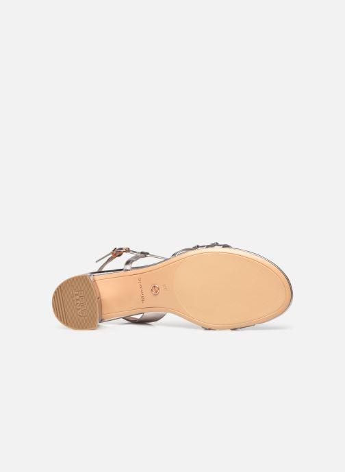 Sandales et nu-pieds Tamaris Vernazza Argent vue haut