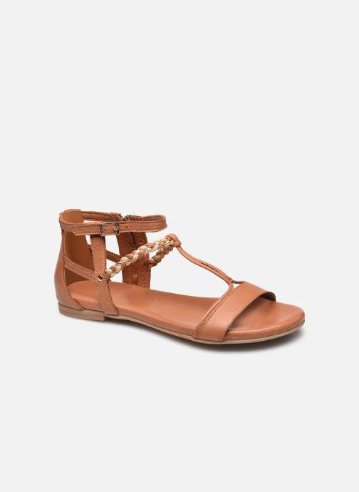 Sandales et nu-pieds Tamaris Dozza Marron vue détail/paire