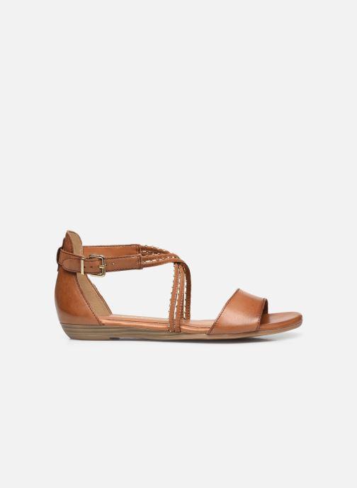 Sandales et nu-pieds Tamaris Treia Marron vue derrière